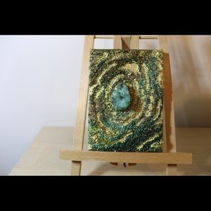 Hand made geode painting